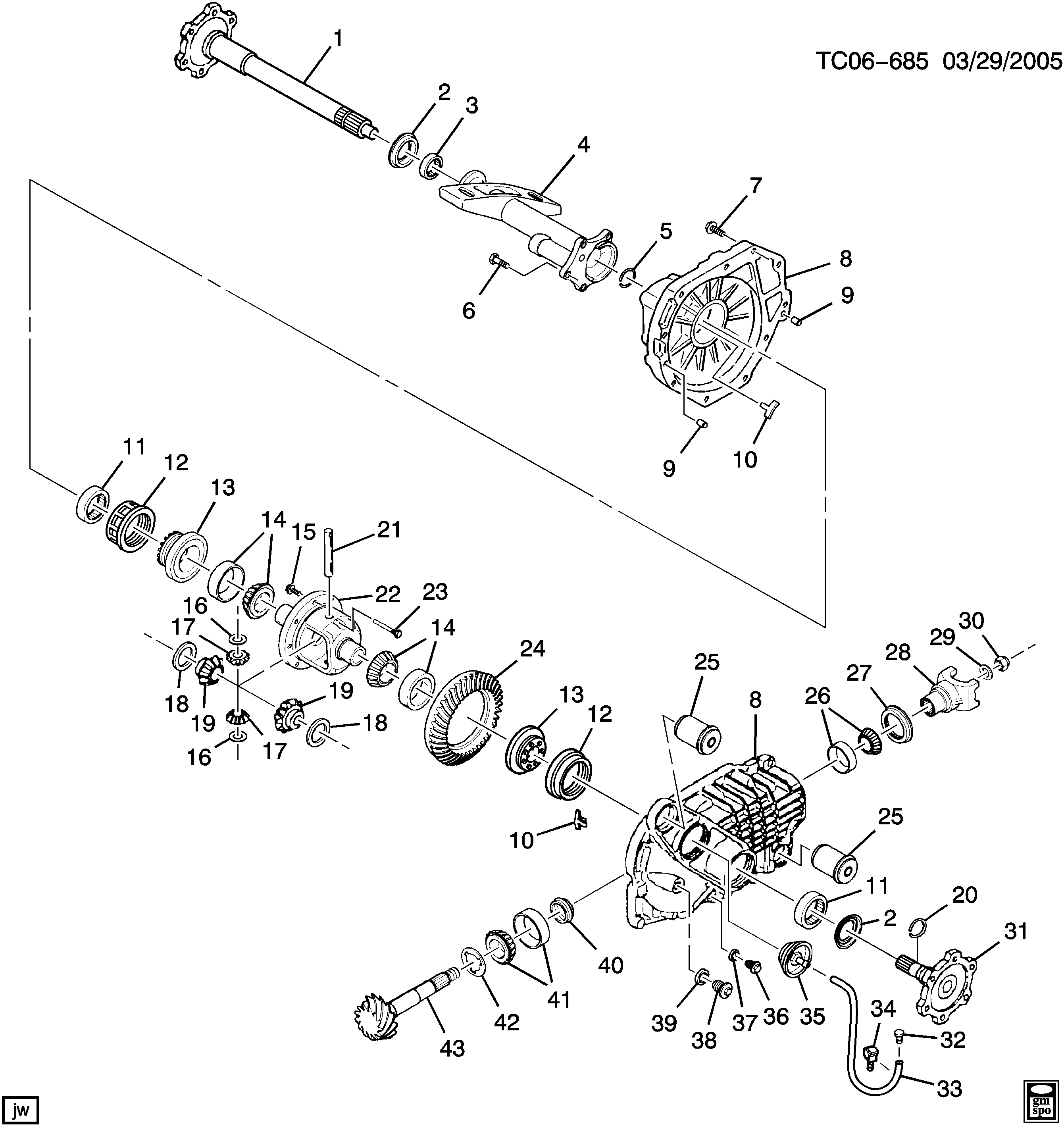 K1(06-36-53) DIFFERENTIAL