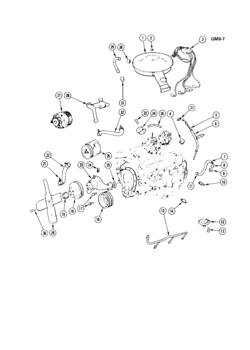 Gm Iron Duke Engine Parts Diagram
