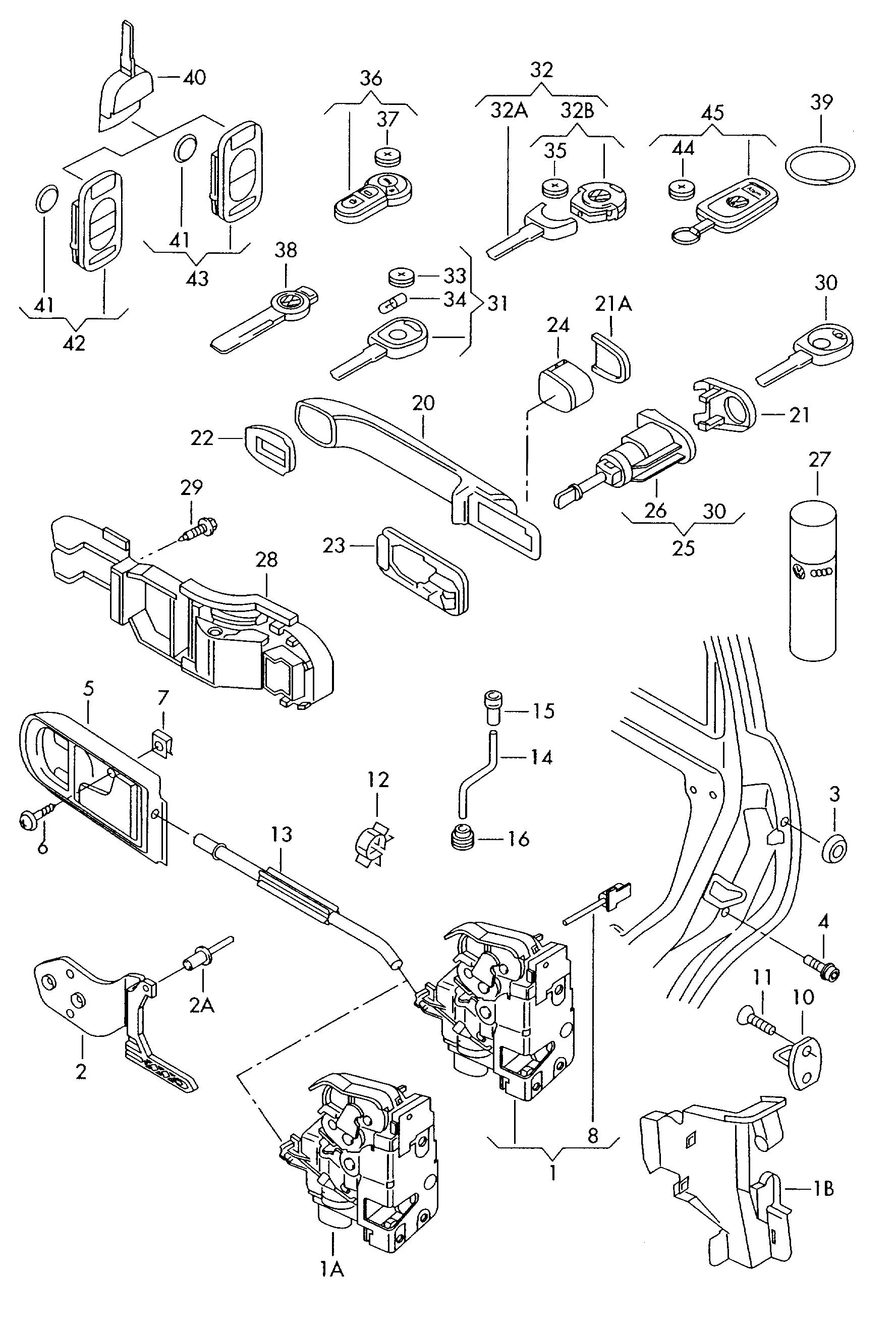 volkswagen lupo  1999 - 2003