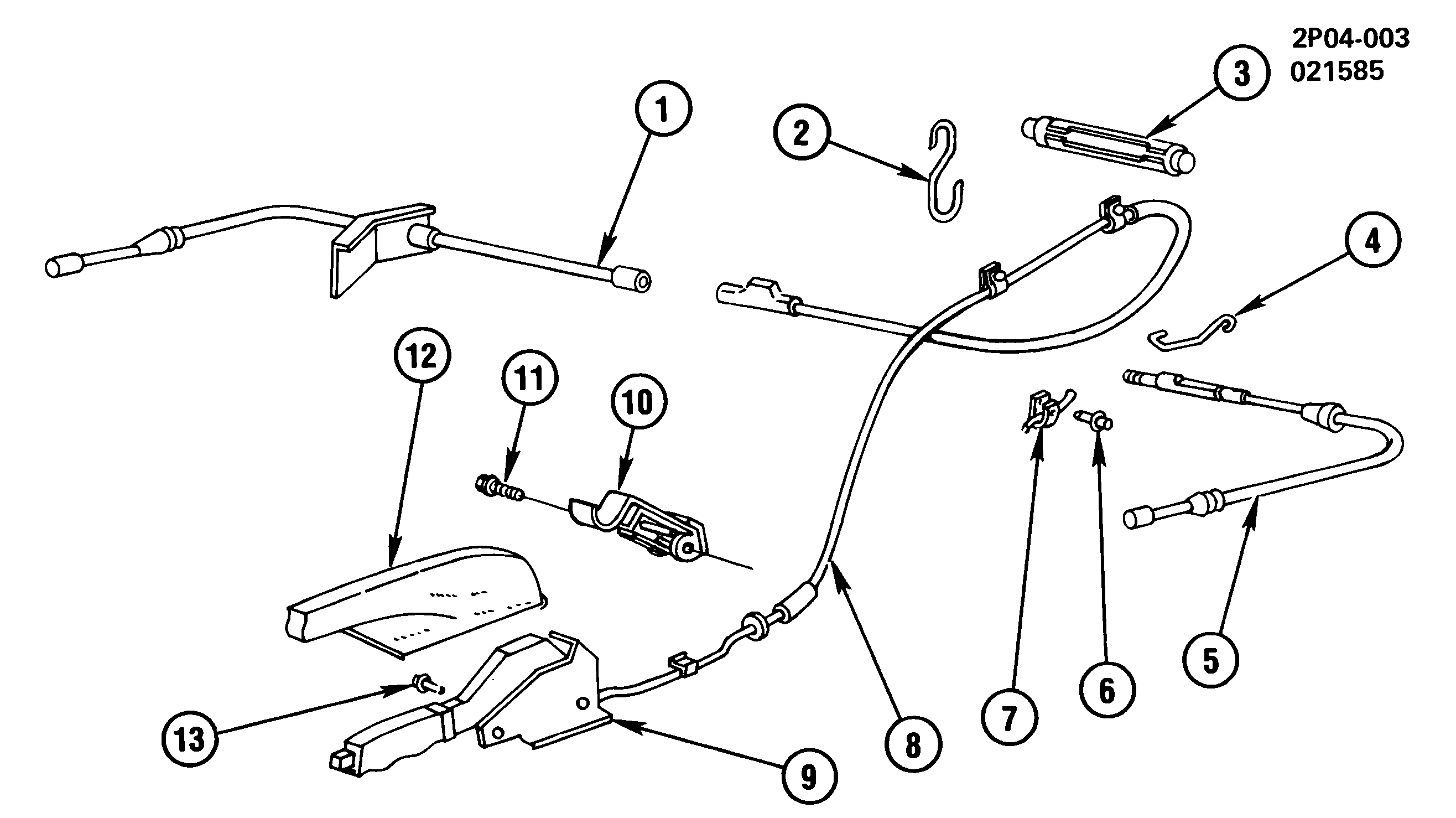 Pontiac Brakes Diagram : Pontiac fiero parts catalogs imageresizertool