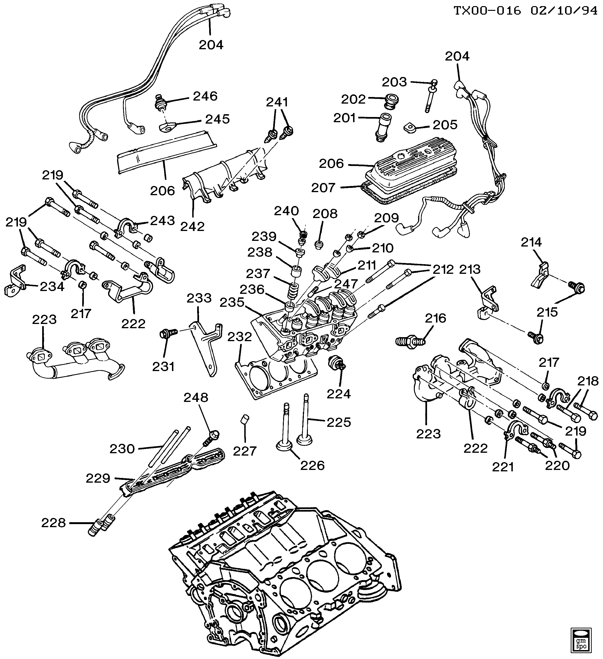 4 3 l35 vortec wiring diagram chevrolet 3 4 engine diagram
