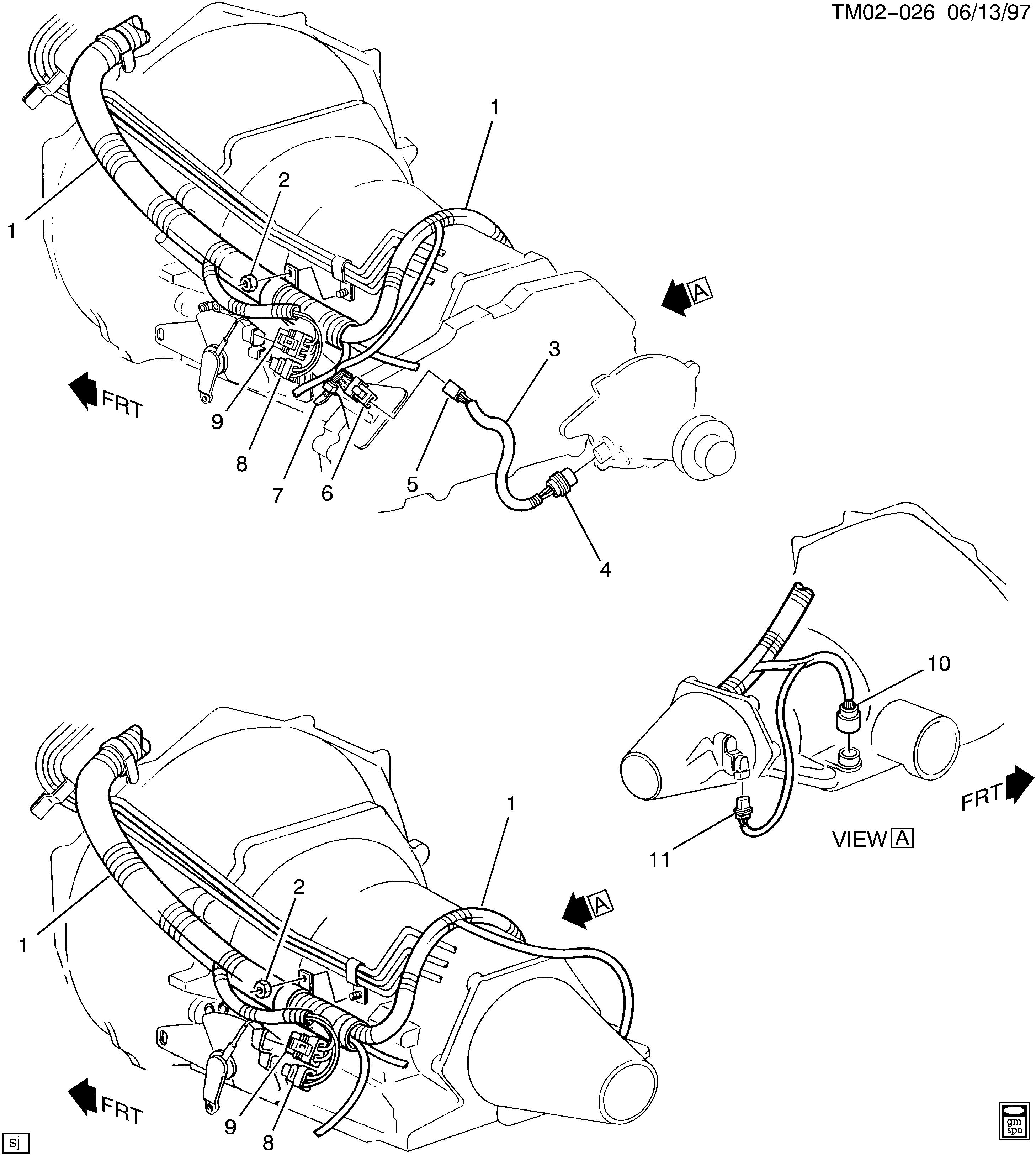 astro engine wiring harness best parts chevy astro engine wiring harness