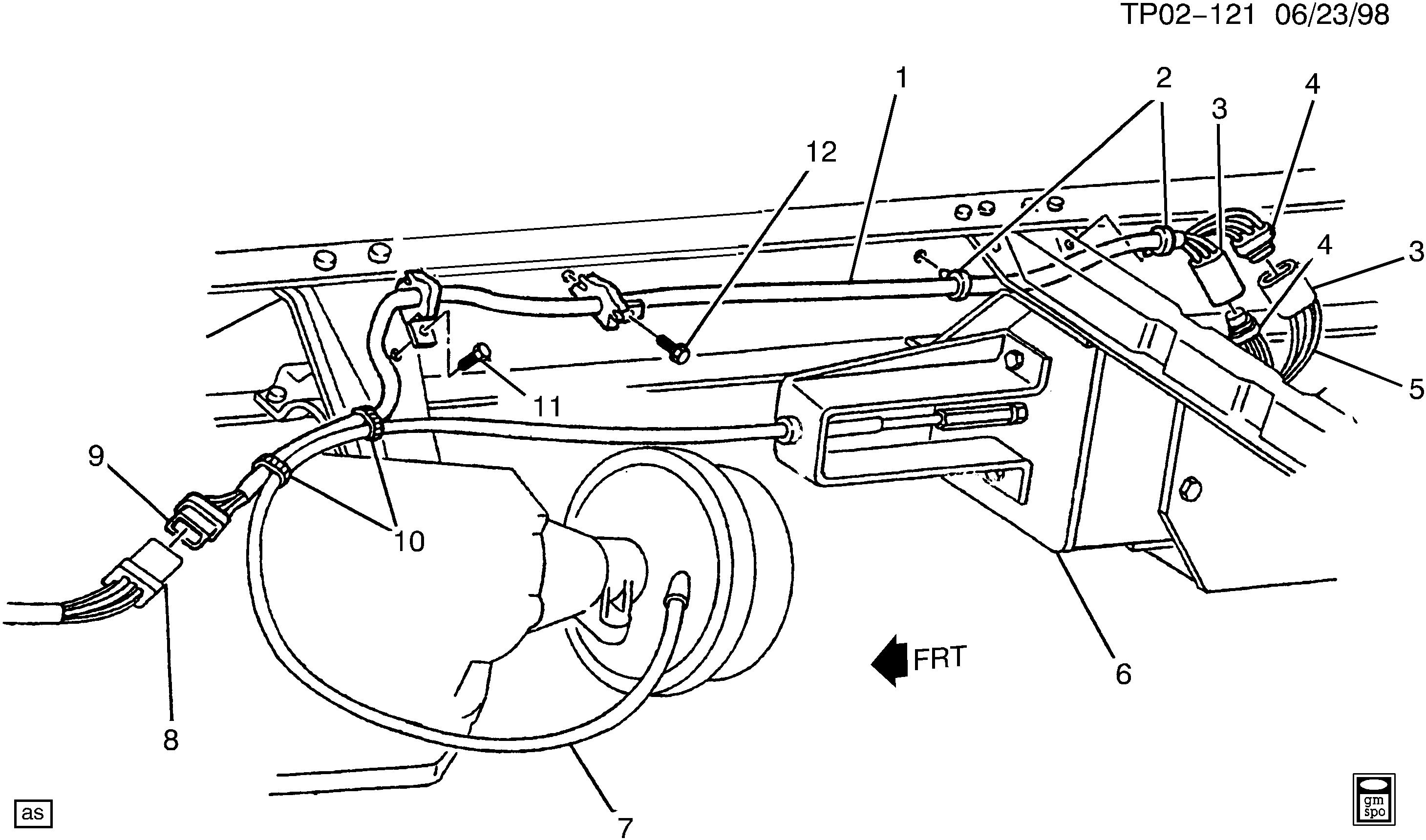 p30 van  park brake actuator  u0026gt  chevrolet