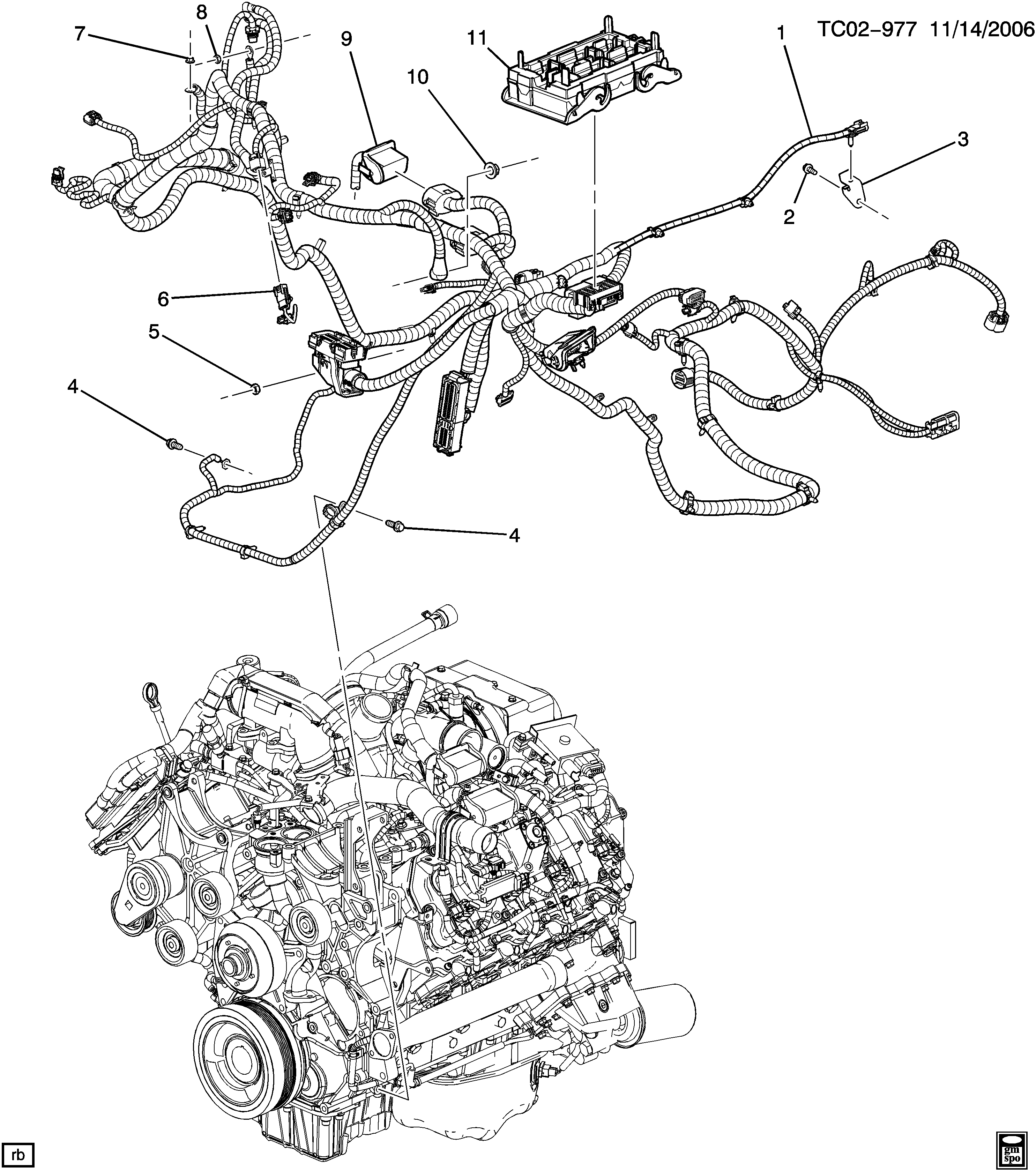 2006 chevy duramax glow plug diagram