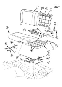 Blazer Emission Diagram 4 3l