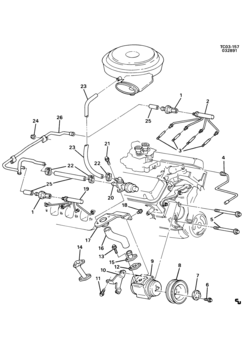 1996 Saab 900s Belt Diagram