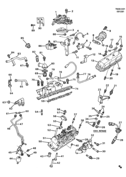 Gm Camshaft Engine Block