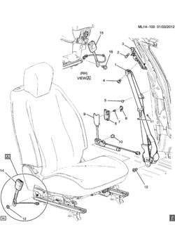 Gmc Terrain Seat Belts