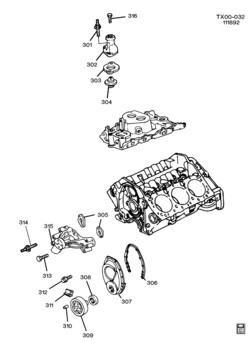 V6 Engine Diagram For Gmc Truck likewise P 0900c1528003d7e3 likewise ShowAssembly also Brake Rotors as well P 0900c1528003d921. on gmc typhoon