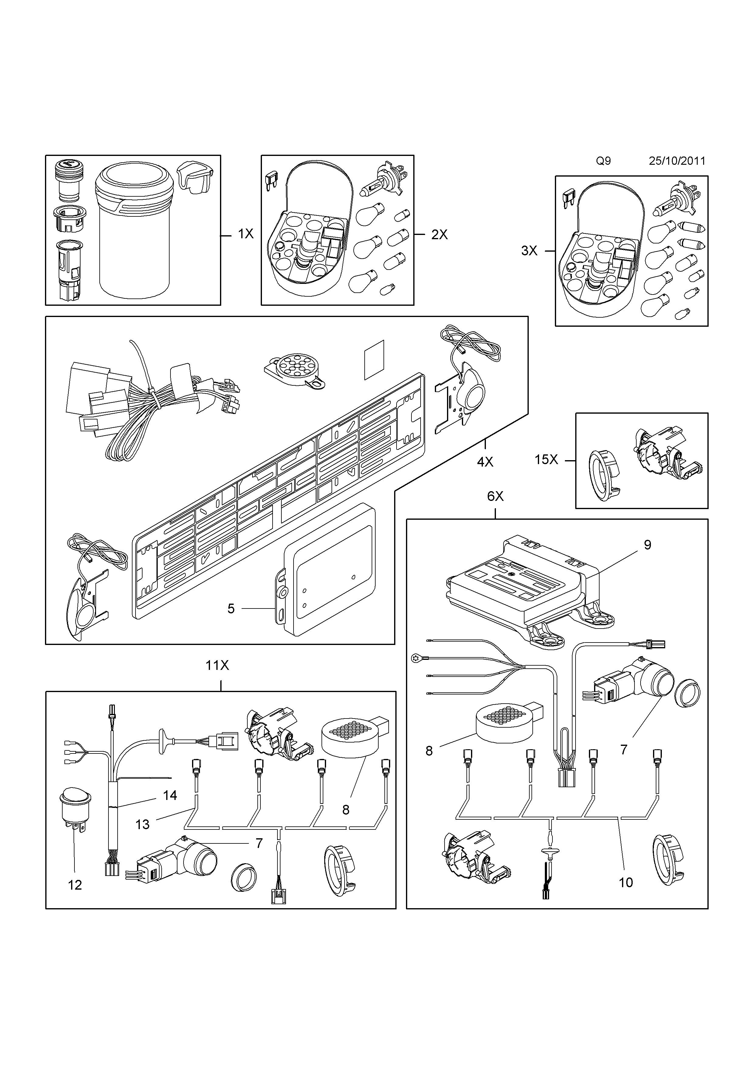 parking sensors installation
