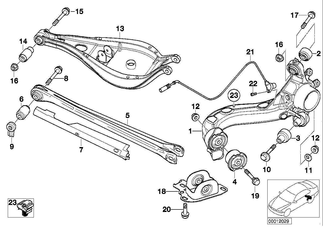 Рейка bmw e39 с треугольным датчиком фото 5